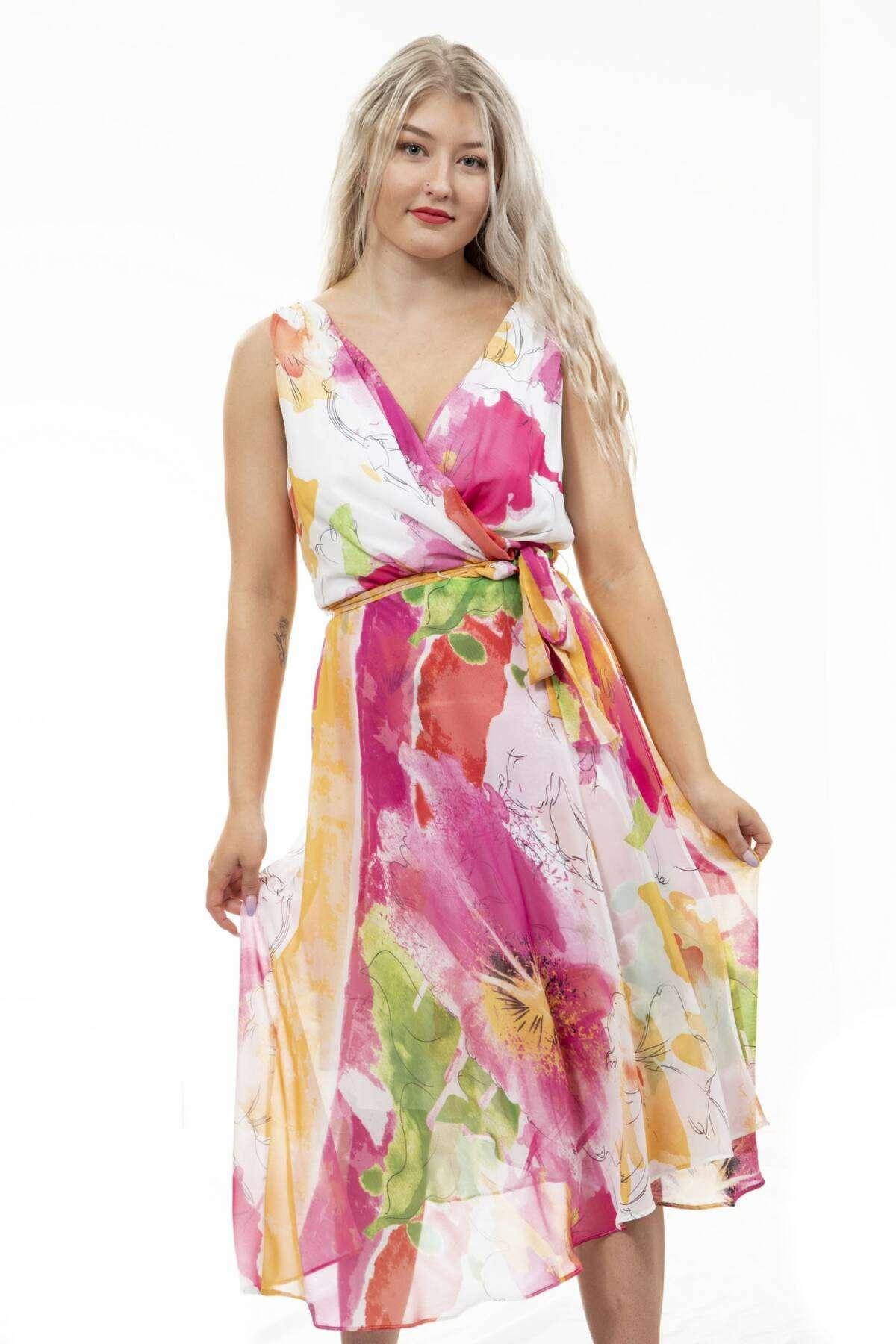 Soulmate Tummansininen pitkä mekko